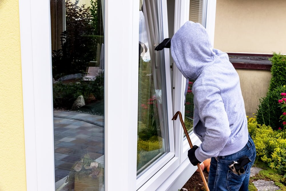 protecting air conditioner unit thieves